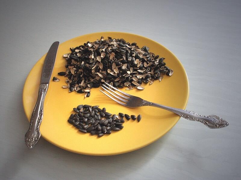 Семена подсолнечника для похудения